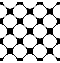 monochrome seamless pattern texture with circles vector image vector image