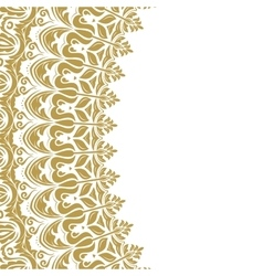 Nice modern golden pattern vector