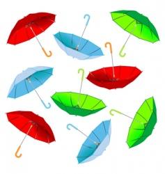 umbrella pattern vector image