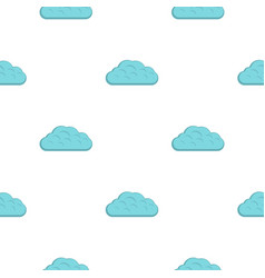 Winter cloud pattern flat vector