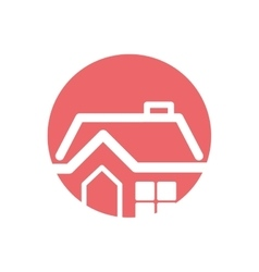 House real estate tag vector