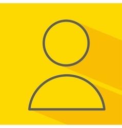 User isolated icon design vector