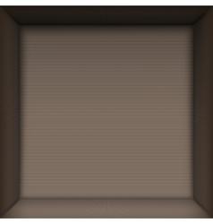Box top view vector