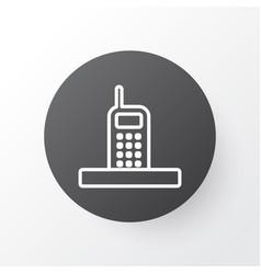 Phone icon symbol premium quality isolated call vector
