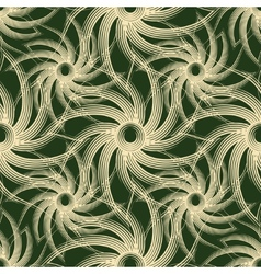 Seamless Swirls Pattern vector image