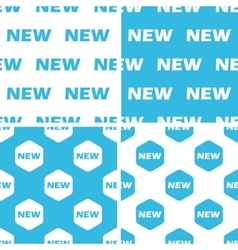 New patterns set vector