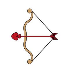 Arch with arrow vector