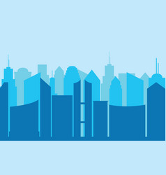 city panorama vector image vector image
