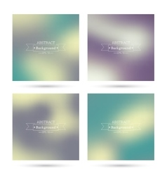 colorful abstract backgrounds vector image vector image