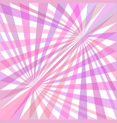 double curved ray burst background - design vector image vector image