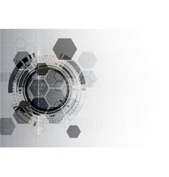 Technological communication digital modern vector