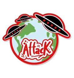 UFO attack vector image
