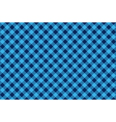 Blue check diagonal seamless background vector image