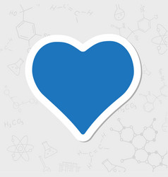 Game heart icon vector