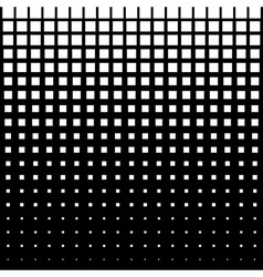 White abstract halftone square dot background vector