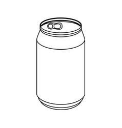 Can of soda vector