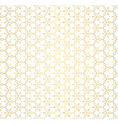 Golden texture oriental geometric seamless pattern vector