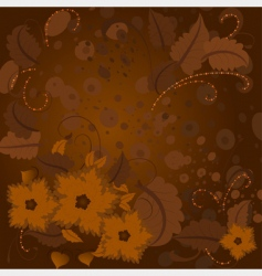 hazel flowers vector image vector image