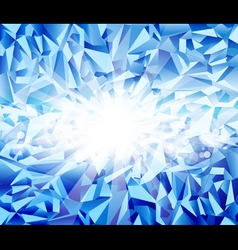 ice blue background vector image vector image