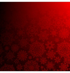 Seamless deep red christmas EPS 10 vector image vector image