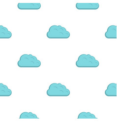 Storm cloud pattern flat vector