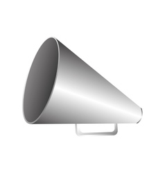 Set director megaphone icon image vector