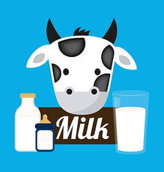 Fresh milk vector