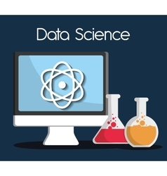 Data science design vector