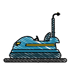 Bumper car vector
