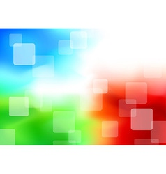 Colorful transparent background - synergy vector image vector image
