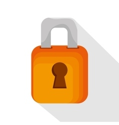 Icon upload process secure design isolated vector