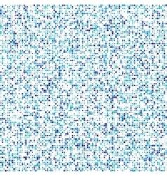 Seamless cross pattern geometric blue vector