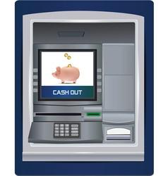 Atm bank vector