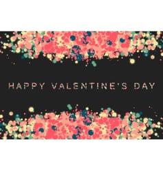 happy valentin day vector image