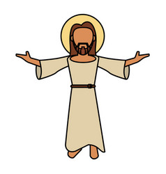 Jesus christ catholic image vector
