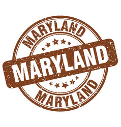 Maryland stamp vector