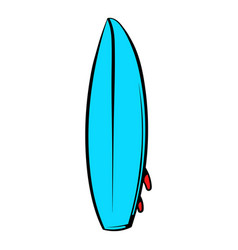 surfboard icon icon cartoon vector image