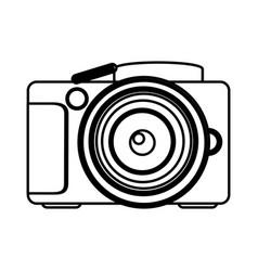 figure camera icon image vector image vector image