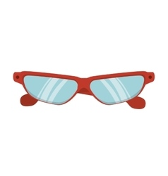 Glasses eyewear sport vector
