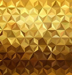 Gold pattern low poly 3d triangle geometry fancy vector