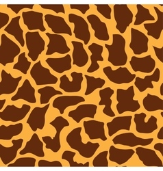 Seamless animal pattern for design vector image vector image