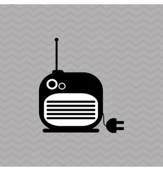 Radio icons design vector