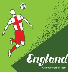 England 4 vector image