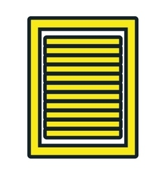 Business document sheet isolated icon vector