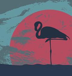 Flamingostand20 vector