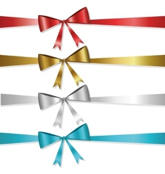 Ribbon collection vector