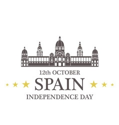 Independence day spain vector