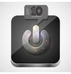 Power app icon vector