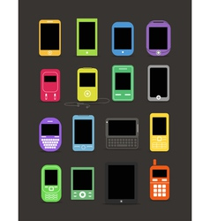 Cellphone collection vector