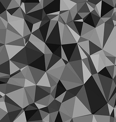 Abstract black and white triangle pattern vector